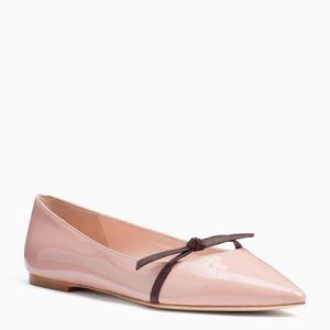 💕NEW Kate Spade Ballet Flats Delilah Conch Shell
